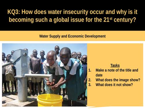 5.8b Water and economic development