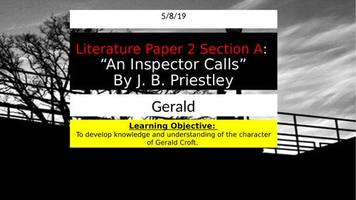 An Inspector Calls - Gerald