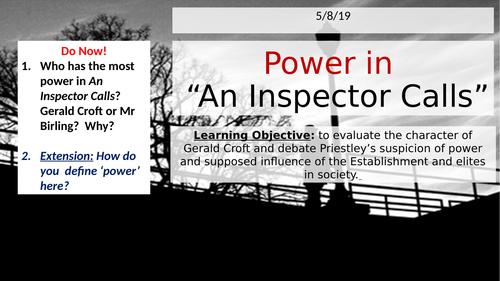 An Inspector Calls - Power