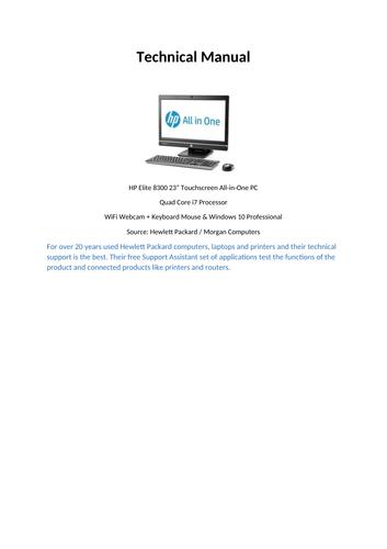 QM009 Technical Manual V002