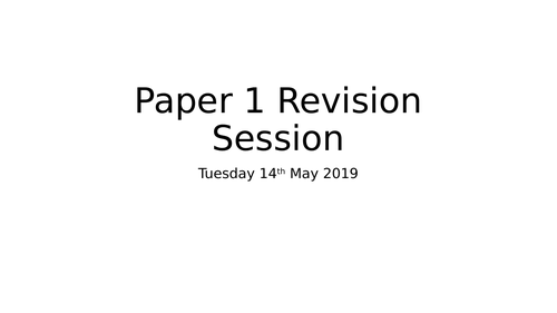 Paper 1 Trilogy Biology Higher