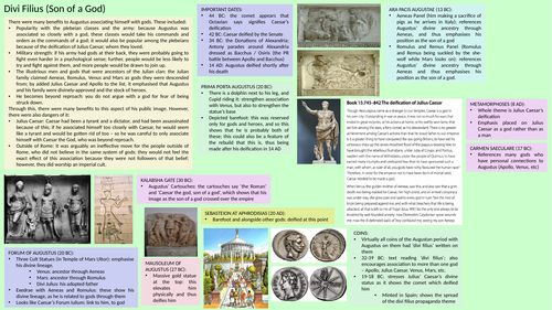 Imperial Image: Augustus' Image with Art