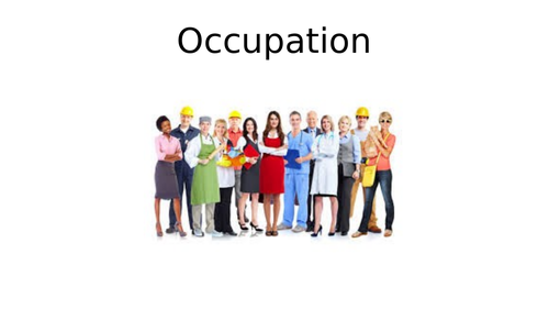 Occupation Theorists - A-Level English Language (AQA )