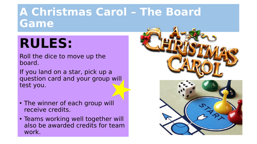 A Christmas Carol the Board Game!