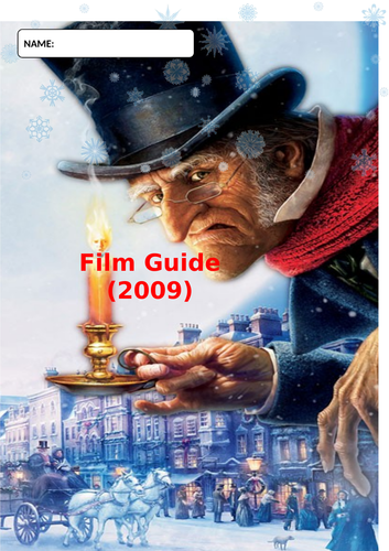 A Christmas Carol Film Guide Question Booklet