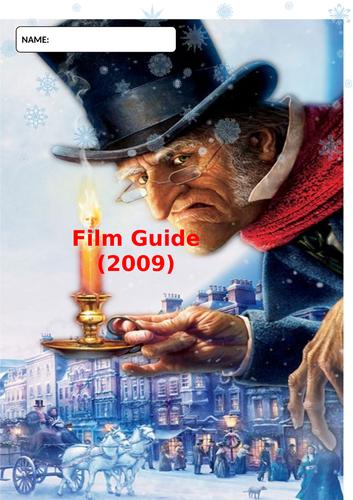 A Christmas Carol Movie.A Christmas Carol Film Guide Question Booklet