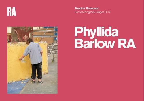 Teacher resource - Sculptor Phyllida Barlow RA