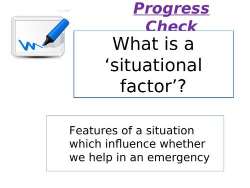 Edexcel 9-1: Psychology Topic 5 Social influence- Lesson 3