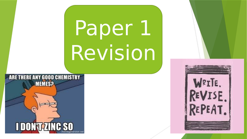 Full Powerpoint AQA Chemistry paper 1: separates  / Trilogy
