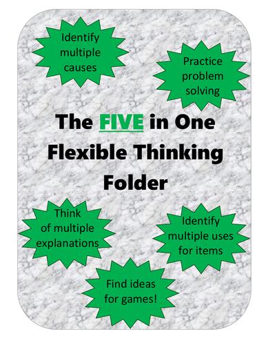 5 in 1 Flexible Thinking Folder