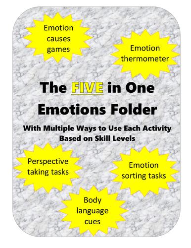 5 in 1 Emotions Folder