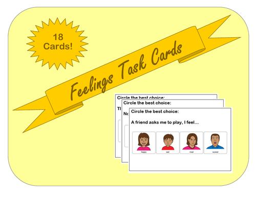Feelings Task Cards