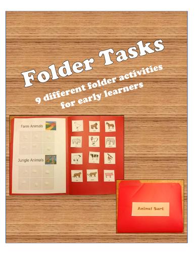 9 Fun and Engaging File Folder Tasks