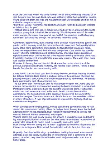 Short Story based on The Hodgeheg