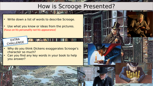 The Presentation of Scrooge