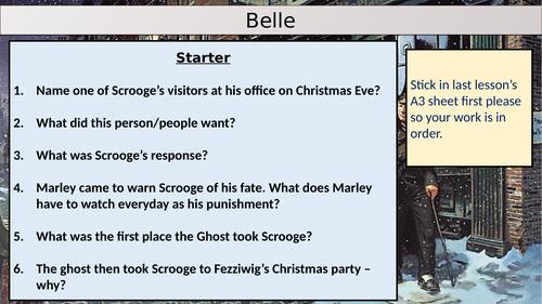 A Christmas Carol: Belle