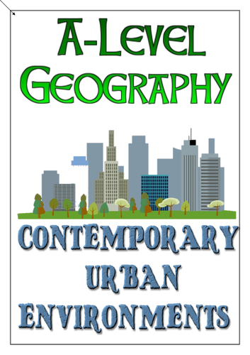 AQA A-Level Geography Contemporary Urban Env. Revision Workbook