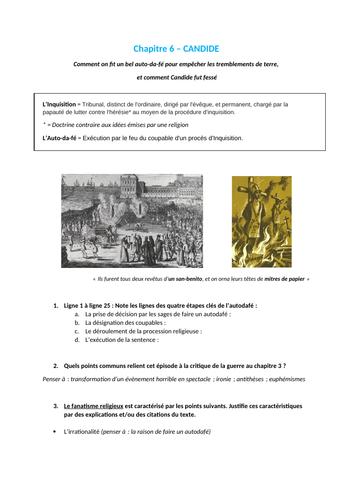 Candide - Chapitre 6