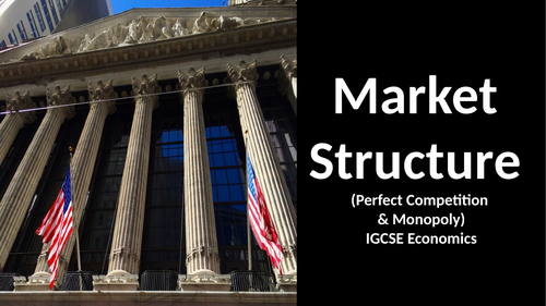 Market Structure (Perfect Competition & Monopoly)IGCSE Economics