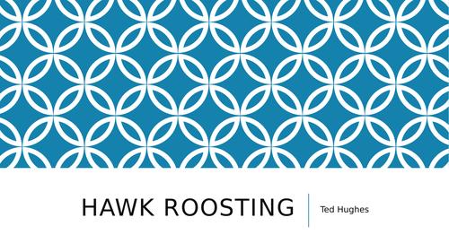 Hawk Roosting - the hawk - WJEC EDUQAS