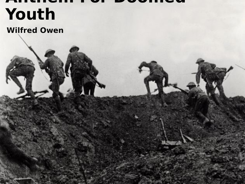 Anthem for Doomed Youth by Wilfred Owen- Poetry Analysis (CCEA GCSE Conflict Poetry)