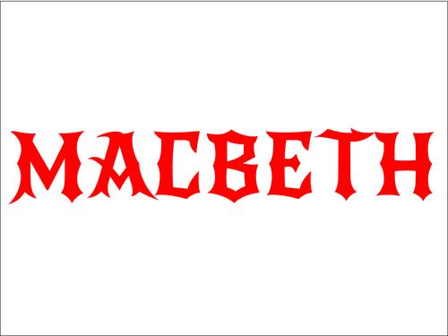 Macbeth Character Flashcards