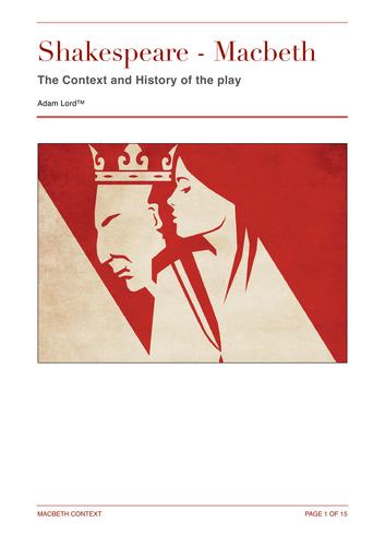 Macbeth Context Booklet