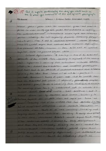 A* A-level Sociology Essay Bundle (education)