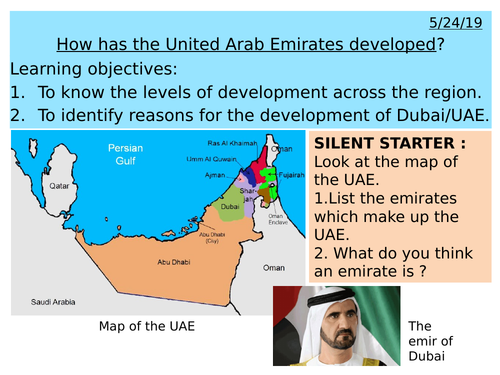 Middle East - How has the United Arab Emirates developed?