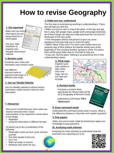 How to Revise Poster for Classroom