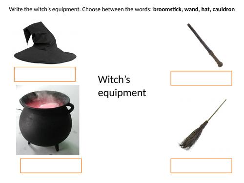 Name Winnie's equipment