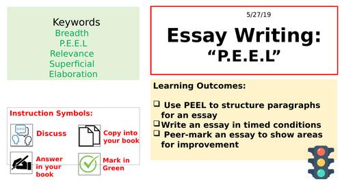 Biology AQA Essay Writing