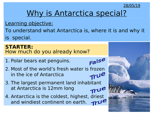 Antarctica - Why is Antarctica special?
