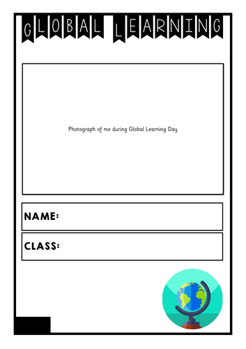 Global Learning Day - Manchester Task Book