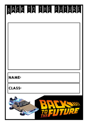 Back to the Future Task Book