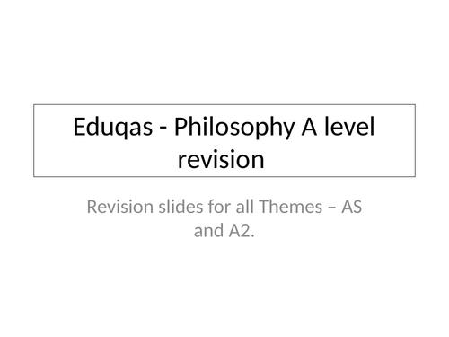 Eduqas A level Complete Philosophy Revision guide