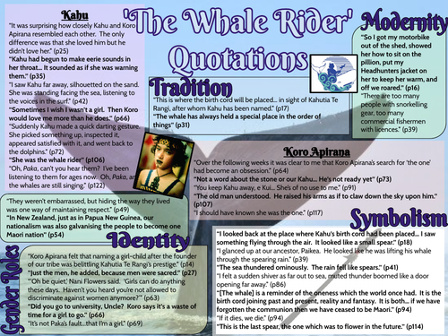 'The Whale Rider' Key Quotations
