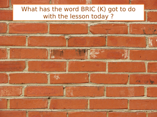 What is a BRIC?