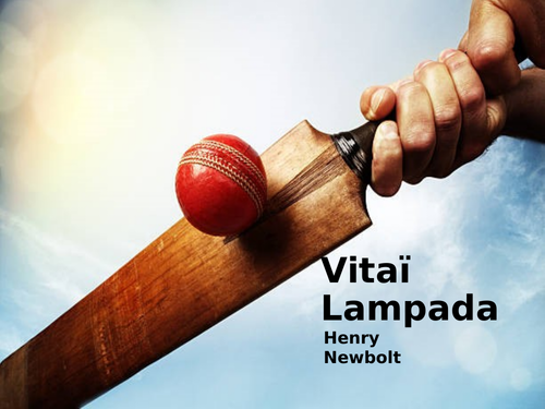 Vitai Lampada by Henry Newbolt- Poetry Analysis (CCEA GCSE Conflict Poetry)