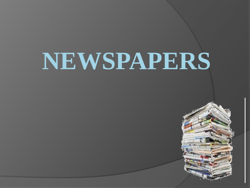 Newspapers - Features of Tabloid & Broadsheet