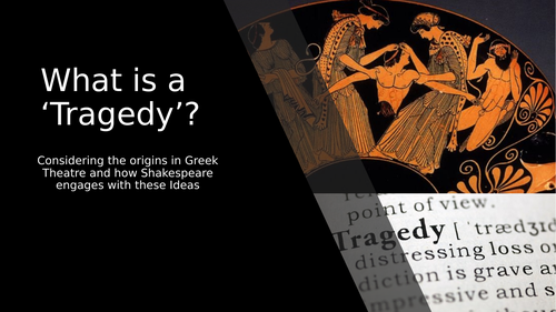 Greek Tragedy and King Lear WJEC A Level Unit 4 English Literature