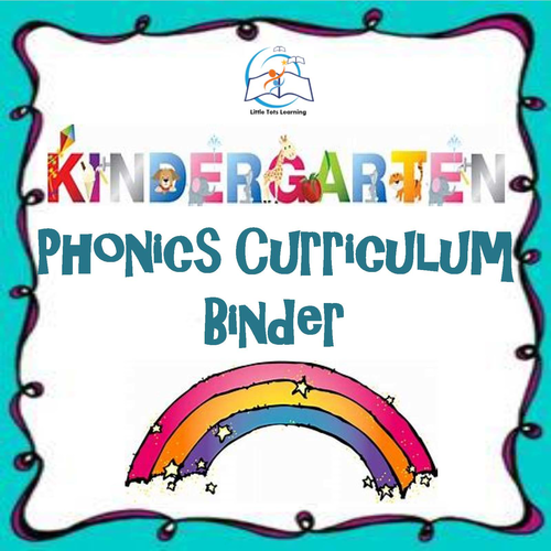 Kindergarten Phonics Curriculum