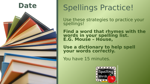 Fun Spelling Practice Activities