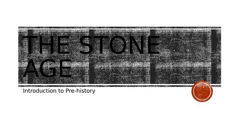 Intro to the Stone Age (timelines)