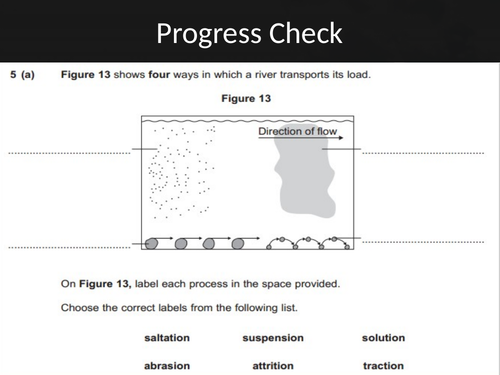 KS3 Rivers SOW (13 lessons, SOW and Assessments)