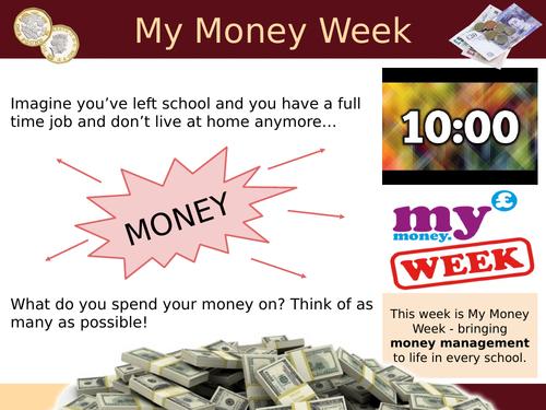 My Money Week Lesson