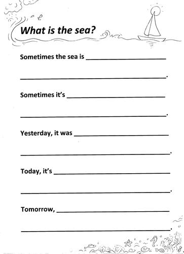OCEAN Metaphor-Writing + Example