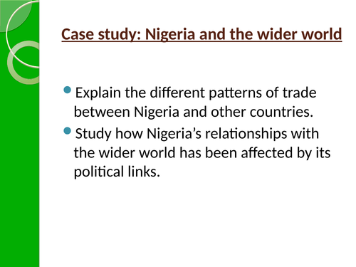 NEE case study- Nigeria