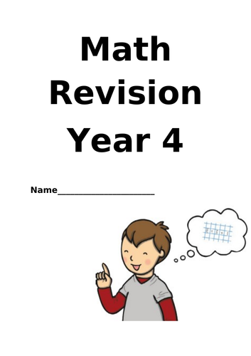 COMPLETE MATH REVISION YEAR 4