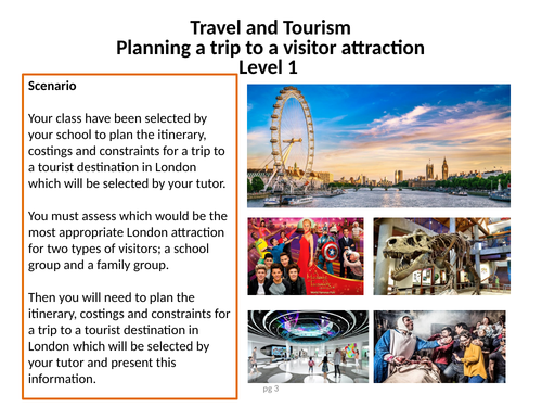 Planning a trip to a visitor attraction